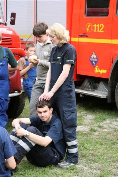 Hanstedter Feuerwehr Marsch 2007