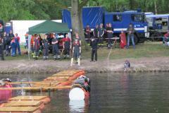 Hanstedter Feuerwehr Marsch 2011