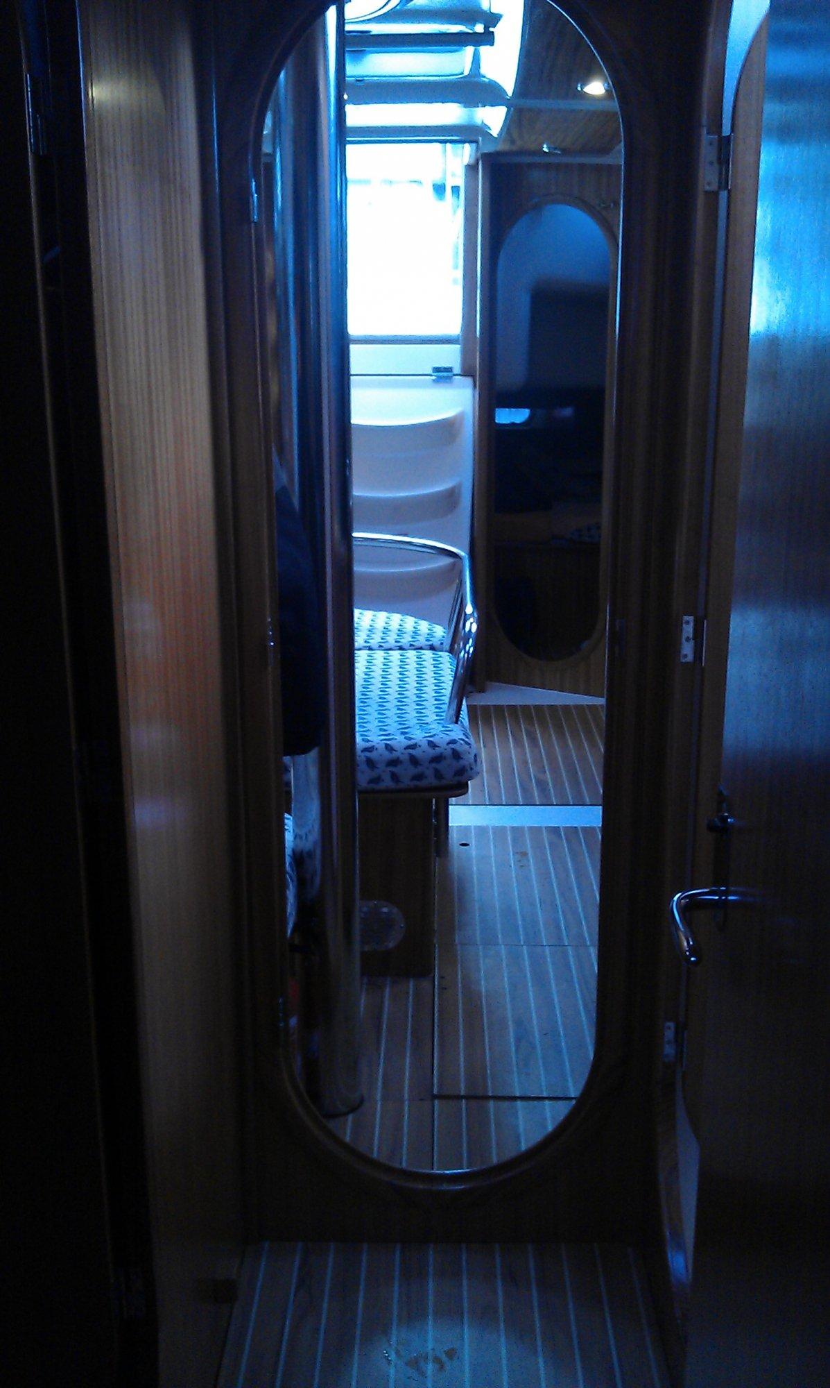 Die Helgoland Express von innen