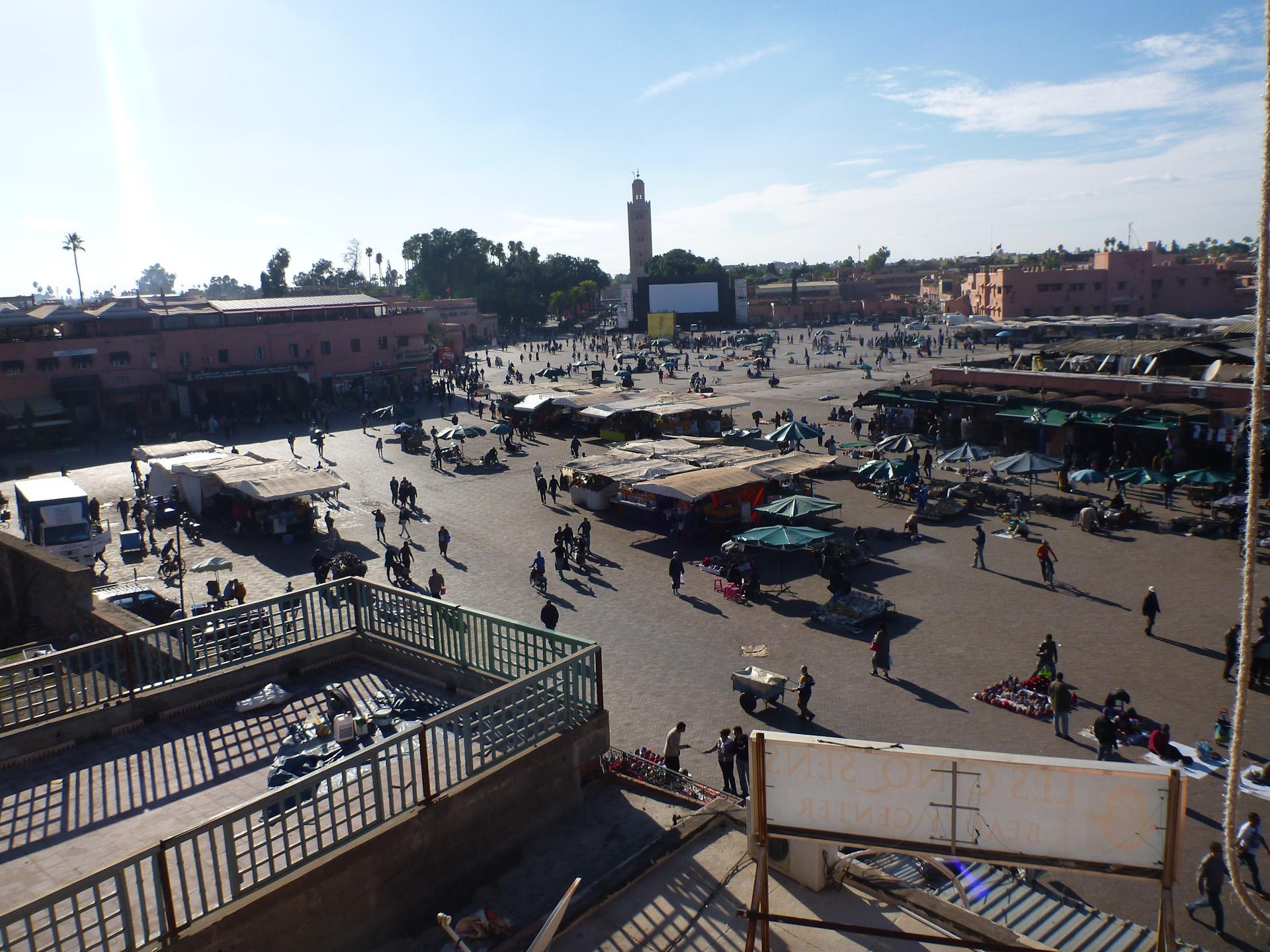 Marakesch Marktplatz